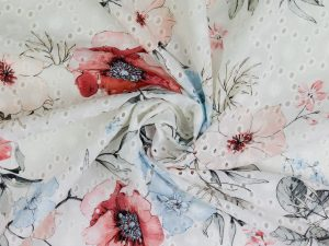 Printed Embroidery Cotton