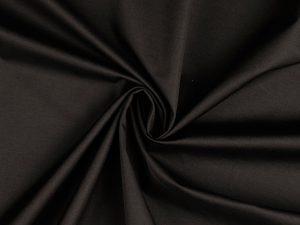 Fashion Trench Coat Gabardine   black matte