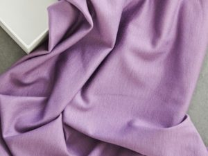 Meet Milk Basic Stretch Jersey mit TENCEL™ Fasern mauve