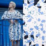 Fibremood Aila, Bloom & Danna | Monet Print Viskose black