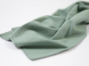 Fibremood Bündchenstoff dust green | Mabel, Robin, Joy & Vera