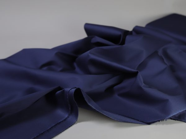 Stretch Popeline navy