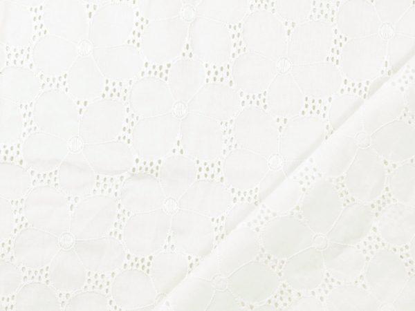 Embroidery Cotton   Daisy white