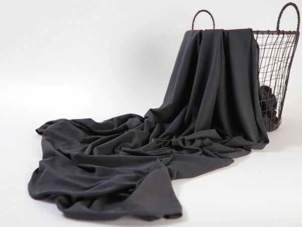 Fashion T-Shirt Jersey aus Produktionsüberhang   dark grey