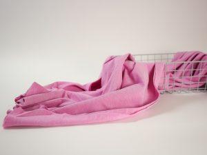 Cotton Piqué Jersey rosa