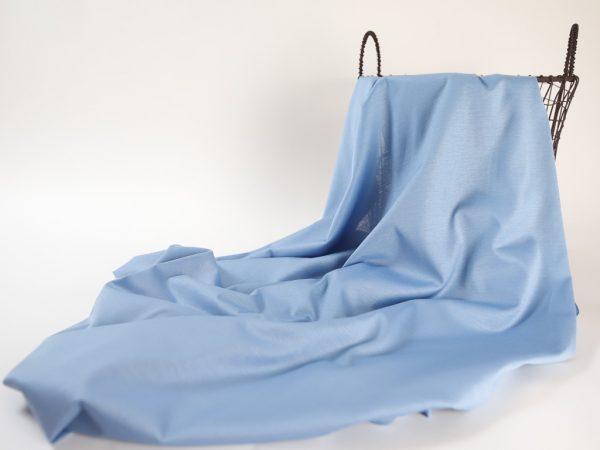 Fashion T-Shirt Jersey aus Produktionsüberhang | smoke blue