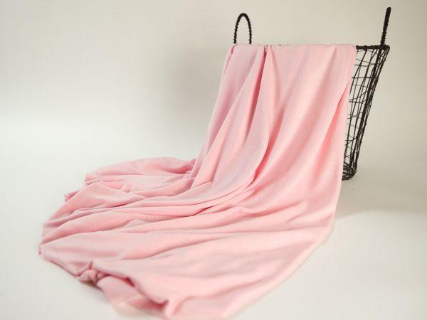 Fashion T-Shirt Jersey aus Produktionsüberhang   powder pink