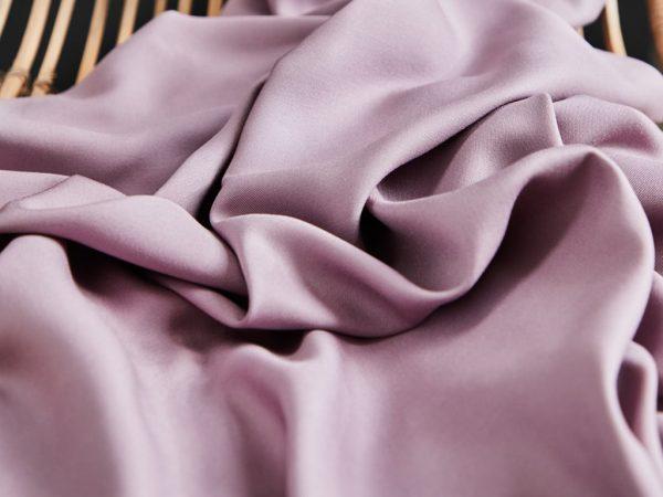 Mind the Maker ECOVERO™ Viskose Solid Twill lilac