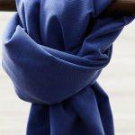 Meet MILK Soft Stretch Twill mit TENCEL™ Fasern lapis