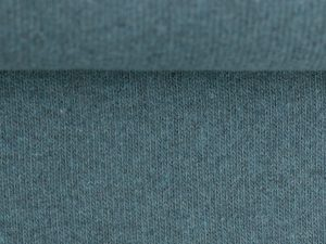 Bono | Angerauter Baumwoll Feinstrick | blau