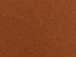 Bono | Angerauter Baumwoll Feinstrick | terracotta