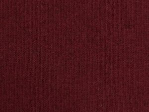 Bono | Angerauter Baumwoll Feinstrick | bordeaux