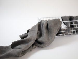 Vintage Viskose Denimlook | grey
