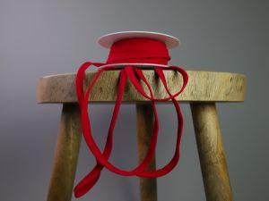 Paspelband elastisch   rot