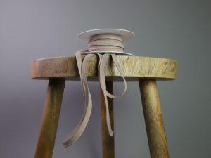Paspelband elastisch   beige