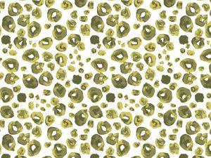 Cloud9 Fabrics Baumwolle Grasslands Spotties Green