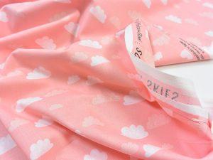 Cotton & Steel Baumwolle Summer Clouds | rosa