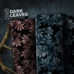 Dark Leaves by Thorsten Berger | Viskose Webware