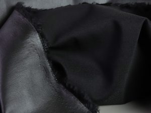 Bengaline Hosenstretchstoff | black