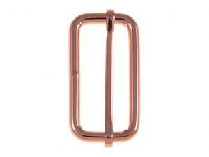 Leiterschnalle roségold | 40 mm | 1 Stück
