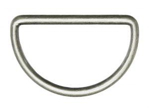 D-Ring silber | 40 mm | 2 Stück