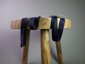 Jersey Schrägband elastisch | dunkelblau