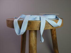 Jersey Schrägband elastisch | hellblau