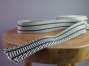 Gurtband Ethno 38 mm | schwarz