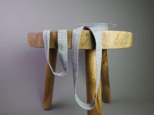 Jersey Schrägband elastisch | hellgrau