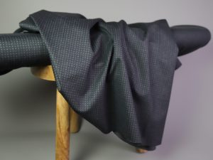 Punto di Roma Fashion Stretch Jersey | black & grey
