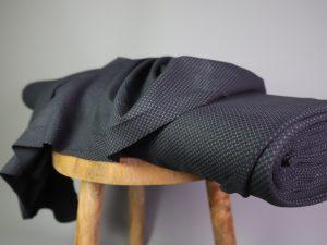 Punto di Roma Fashion Stretch Jersey | black & white lines