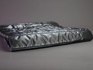 Silk Gloss Jackenstepper | platin