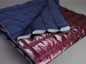 Silk Gloss Jackenstepper | bordeaux
