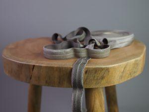 Falzgummi | Elastisches Einfassband olive