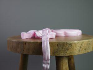 Falzgummi | Elastisches Einfassband rosa