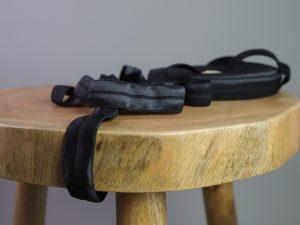 Falzgummi | Elastisches Einfassband black