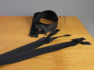 Jacken-Reißverschluss beschichtet | schwarz