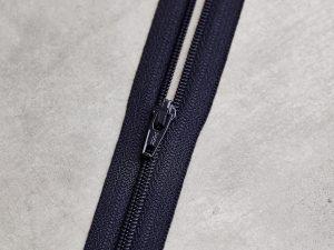 Meet Milk | Basic Coli Zipper 30 cm | dark navy