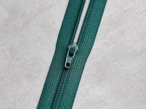 Meet Milk | Basic Coli Zipper 30 cm | emerald