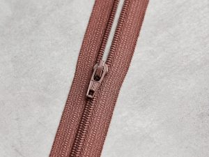 Meet Milk | Basic Coli Zipper 30 cm | old rose