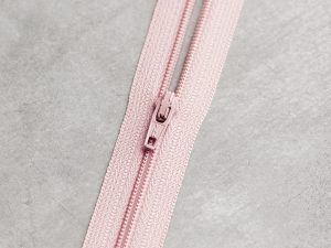 Meet Milk | Basic Coli Zipper 30 cm | powder pink