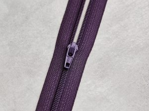 Meet Milk | Basic Coli Zipper 30 cm | purple night