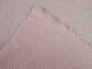 Soft Waffle Knit   rose