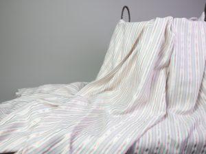 Yarn Dyed Viskose | pastell und kupfer