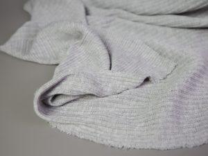 Mini Cable Knit Jersey   grey melange
