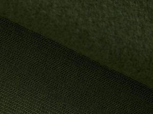Organic Basic Brushed Sweat | green khaki