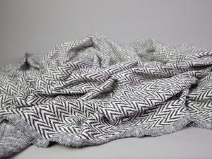 Soft Chevron Jacquard Knit