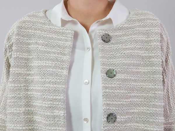 DIY Kit Coco Bouclé Knit seashell   Timeless Chic Originals Collection