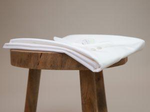 DIY Kit Bea Stretch Poplin Hemdbluse weiß | Timeless Chic Originals Collection