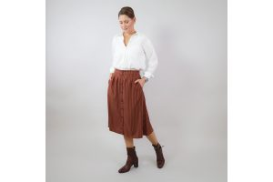 Outfit Bundle Midi Louise pecan Office   Timeless Chic Originals Collection
